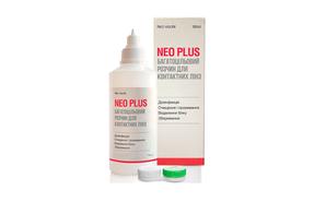 Раствор для контактных линз Neo Vision Neo Plus - фото