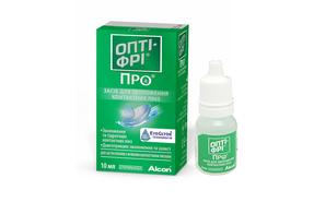 Alcon Opti – Free Pro увлажняющие капли для линз - фото