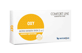 Месячные контактные линзы Interojo Oxy - фото
