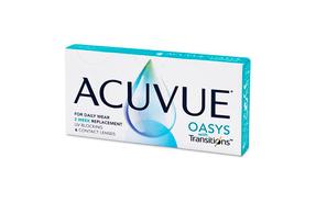 Двухнедельные контактные линзы Acuvue Oasys with Transitions - фото