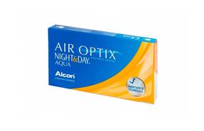 Месячные контактные линзы Alcon Air Optix Night&Day Aqua - фото