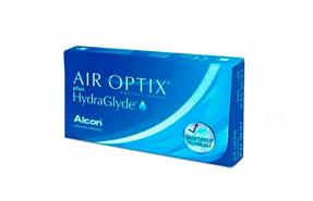 Месячные контактные линзы Alcon Air Optix plus HydraGlyde - фото
