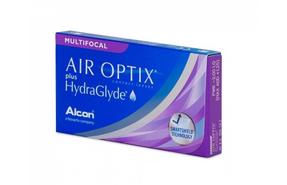 Мультифокальные контактные линзы Alcon Air Optix plus HydraGlyde Multifocal - фото