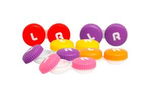 Контейнер для контактных линз (цветной) - фото