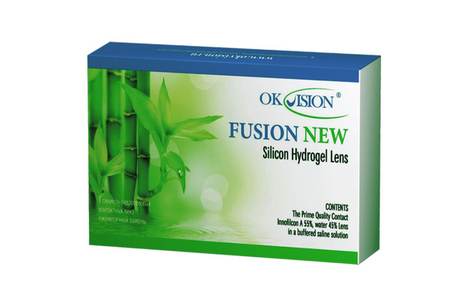 Месячные контактные линзы OkVision Fusion New - фото
