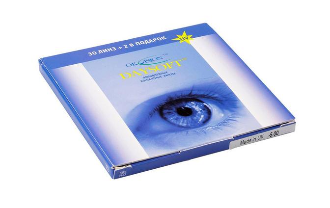 Однодневные контактные линзы OkVision DaySoft - фото