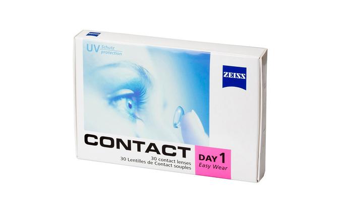 Однодневные контактные линзы Zeiss Contact Day 1 Easy Wear - фото