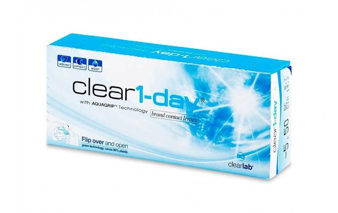 Однодневные контактные линзы ClearLab Clear 1 Day - фото