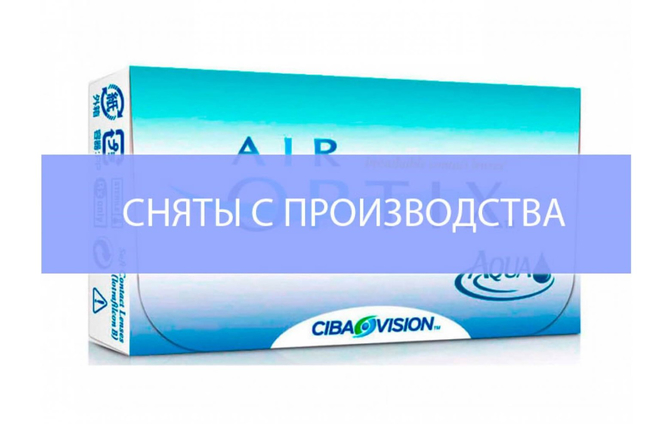 Месячные контактные линзы Alcon Air Optix Aqua - фото