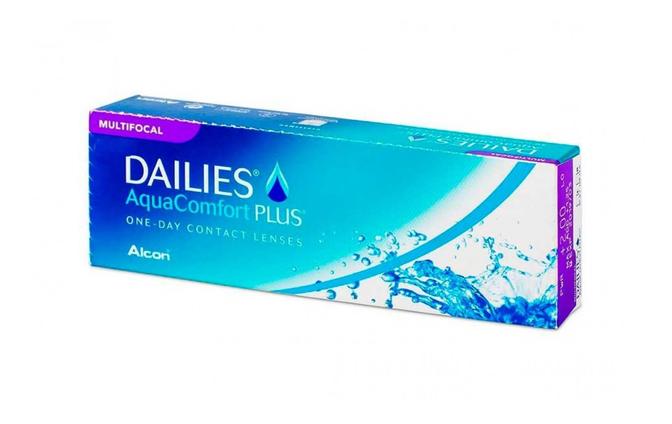 Мультифокальные однодневные линзы Alcon Dailies Aqua Multifocal - фото