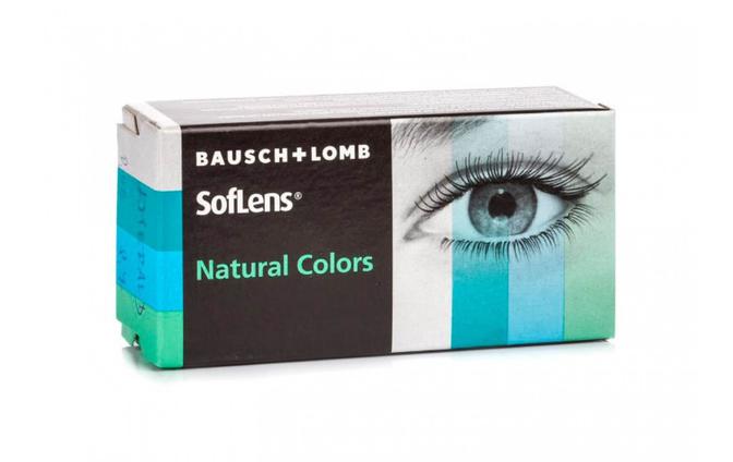 Цветные контактные линзы Bausch+Lomb Soflens Natural Colors - фото