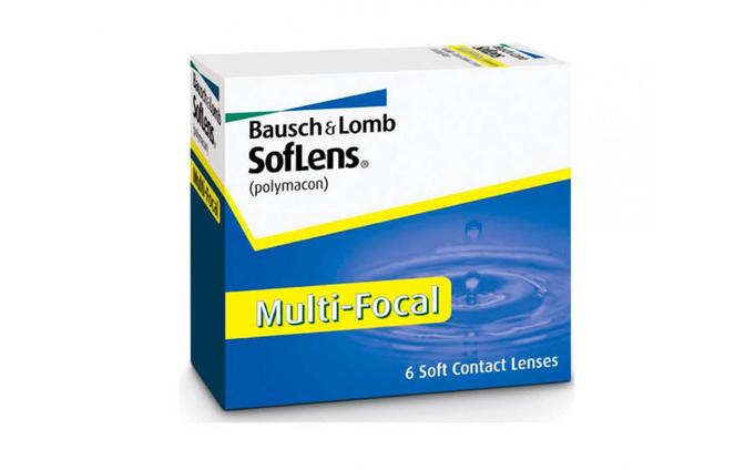 Мультифокальные контактные линзы Bausch+Lomb SofLens Multi-Focal - фото
