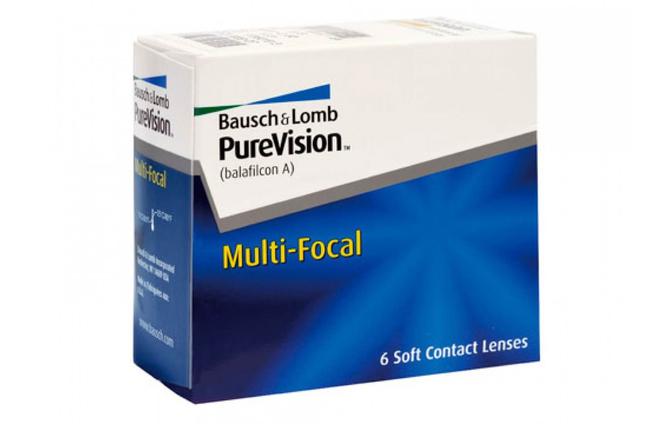 Мультифокальные контактные линзы Bausch+Lomb Pure Vision Multi-Focal - фото