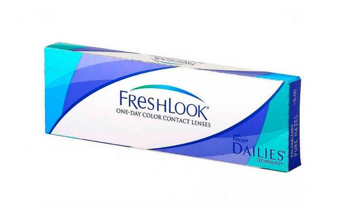 Цветные однодневные линзы Alcon FreshLook One Day - фото