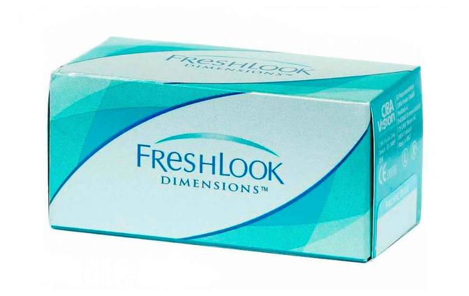 Цветные контактные линзы Alcon FreshLook Dimensions (00) - фото