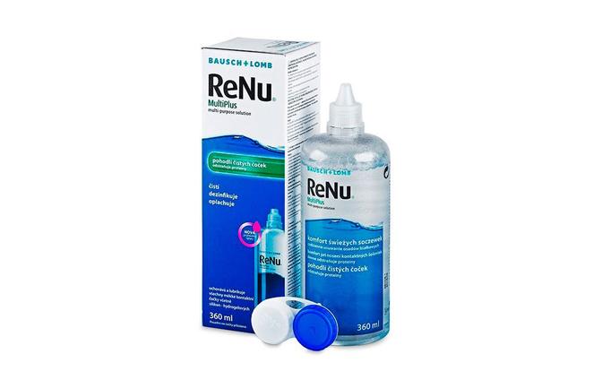 Раствор для контактных линз Bausch+Lomb ReNu MultiPlus - фото