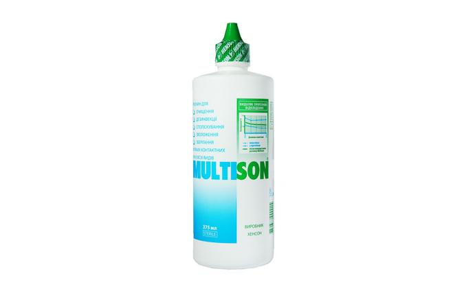 Раствор для контактных линз Henson Multison - фото
