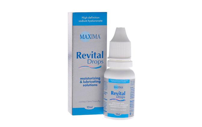 Увлажняющие капли Maxima Revital Drops - фото