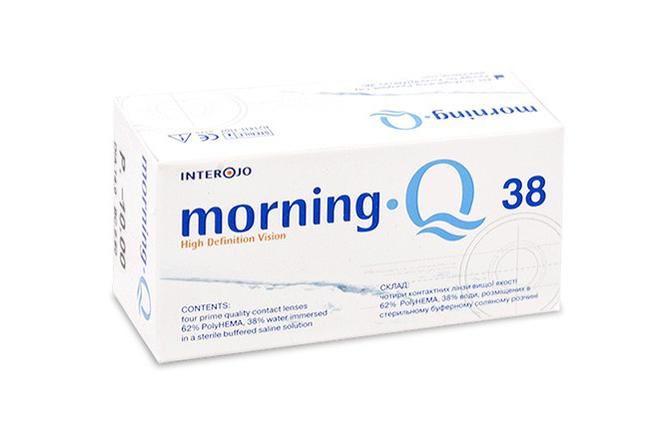 Квартальные контактные линзы Interojo Morning Q 38 - фото