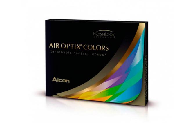 Цветные контактные линзы Alcon Air Optix Colors - фото