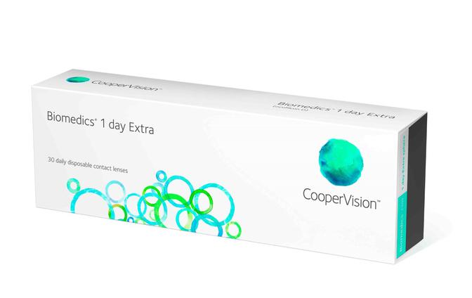 Однодневные контактные линзы Cooper Vision Biomedics 1 day Extra - фото
