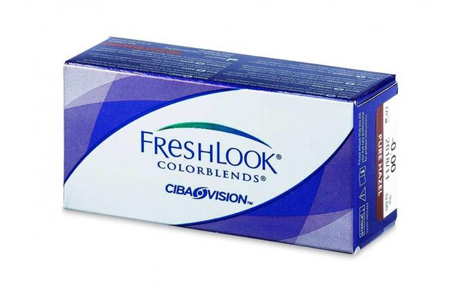 Цветные контактные линзы Alcon FreshLook Colorblends - фото