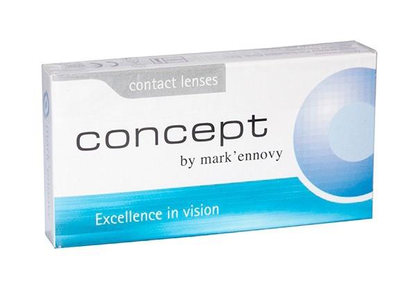 Месячные контактные линзы Mark`ennovy Concept - фото