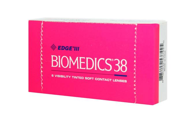 Квартальные контактные линзы Cooper Vision Biomedics 38 - фото