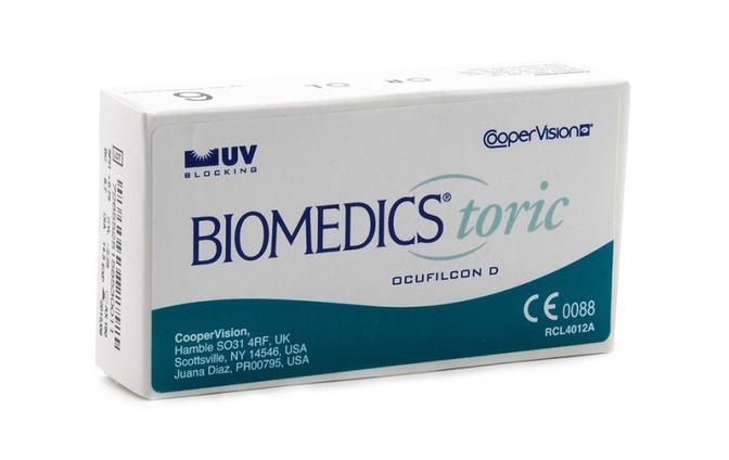 Торические контактные линзы Cooper Vision Biomedics Toric UV - фото