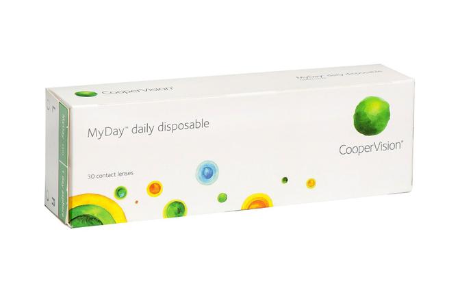 Однодневные контактные линзы Cooper Vision MyDay - фото