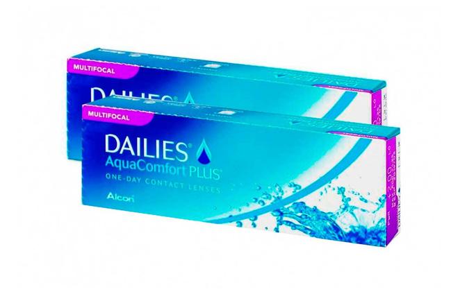 Dailies Aqua Multifocal - 2 упаковки (-3%) - фото