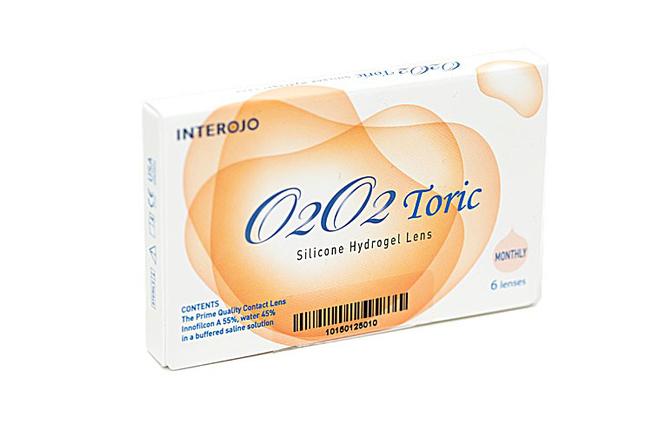 Торические контактные линзы Interojo O2O2 toric - фото