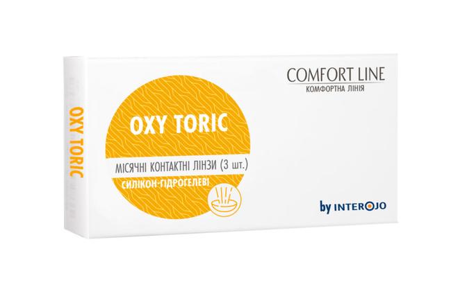 Торические контактные линзы Interojo Oxy toric - фото