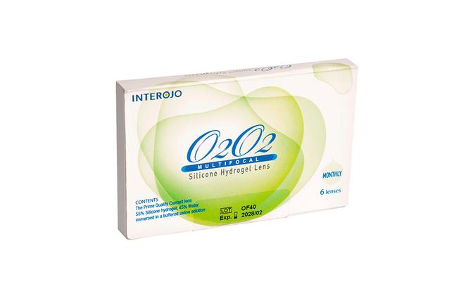 Мультифокальные контактные линзы Interojo O2O2 Multifocal - фото