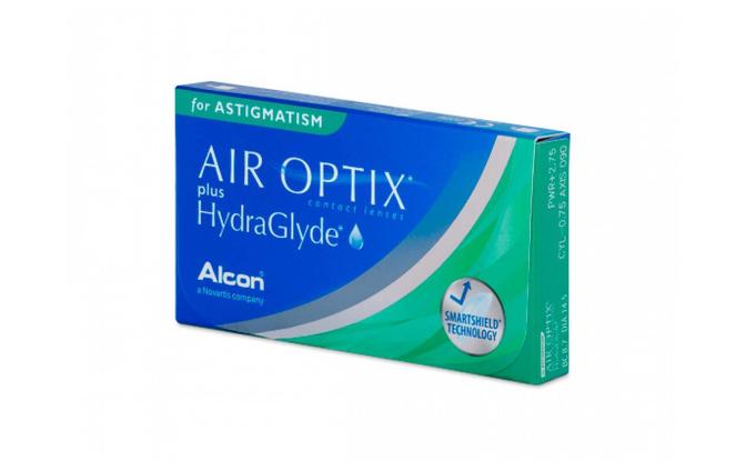 Торические контактные линзы Alcon Air Optix plus HydraGlyde for Astigmatism - фото