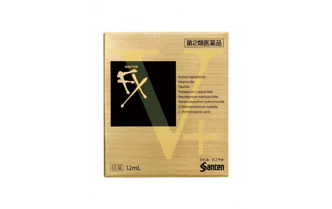 Японские капли Sante FX V+  - фото